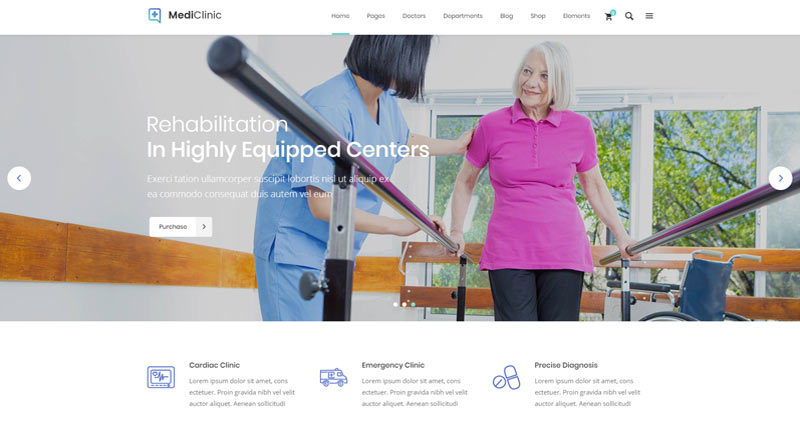 MediClinic WordPress Theme