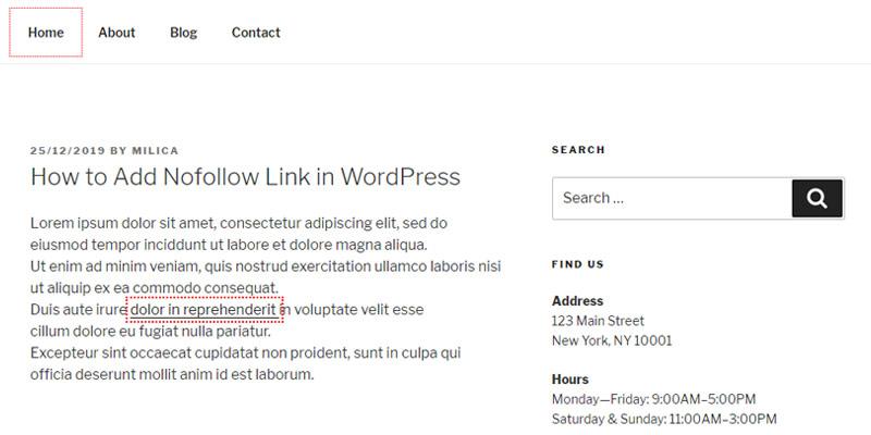 NoFollow Chrome Extension