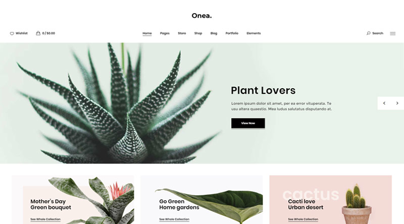 Onea WordPress Theme