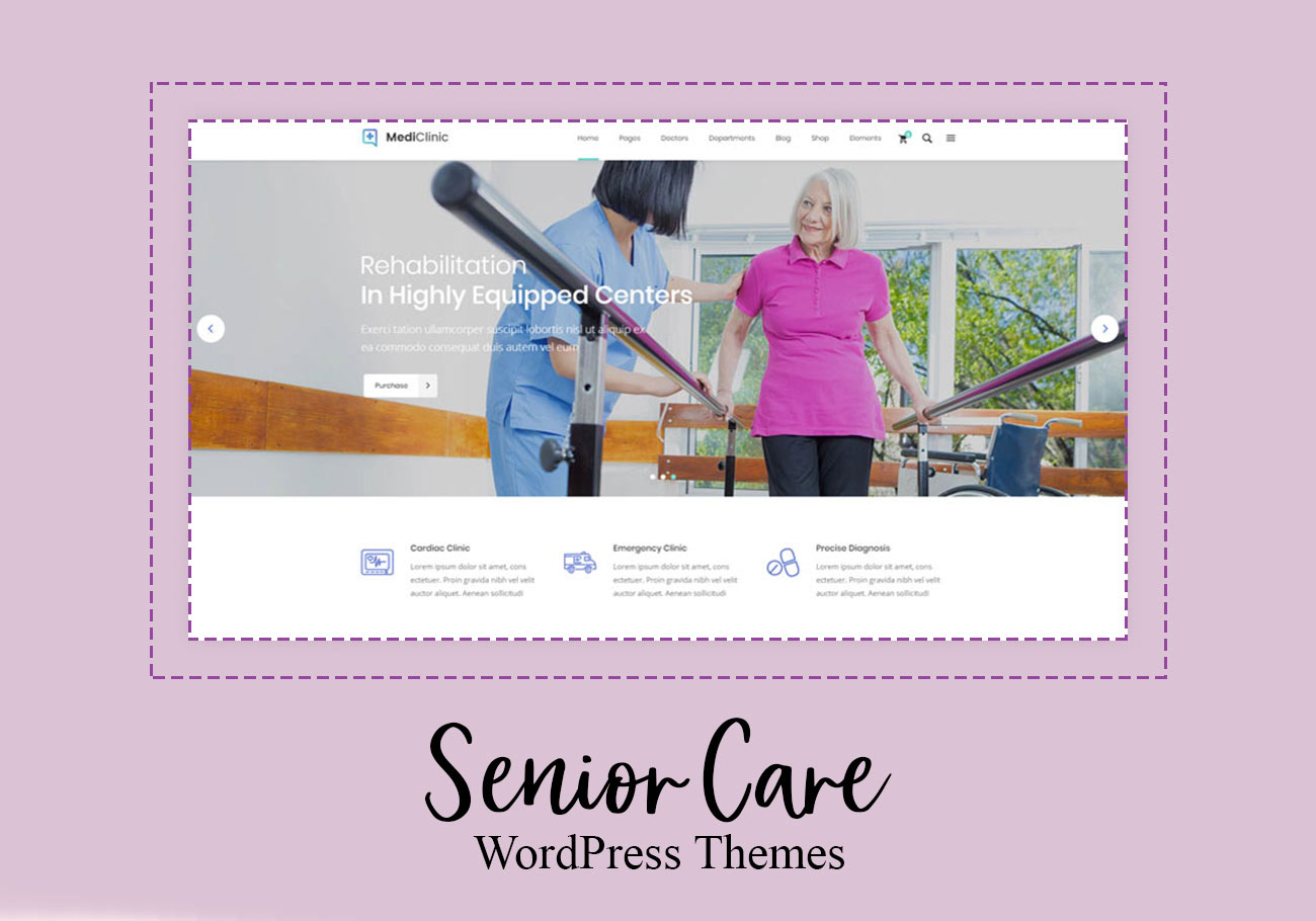 Superb Senior Care WordPress Themes
