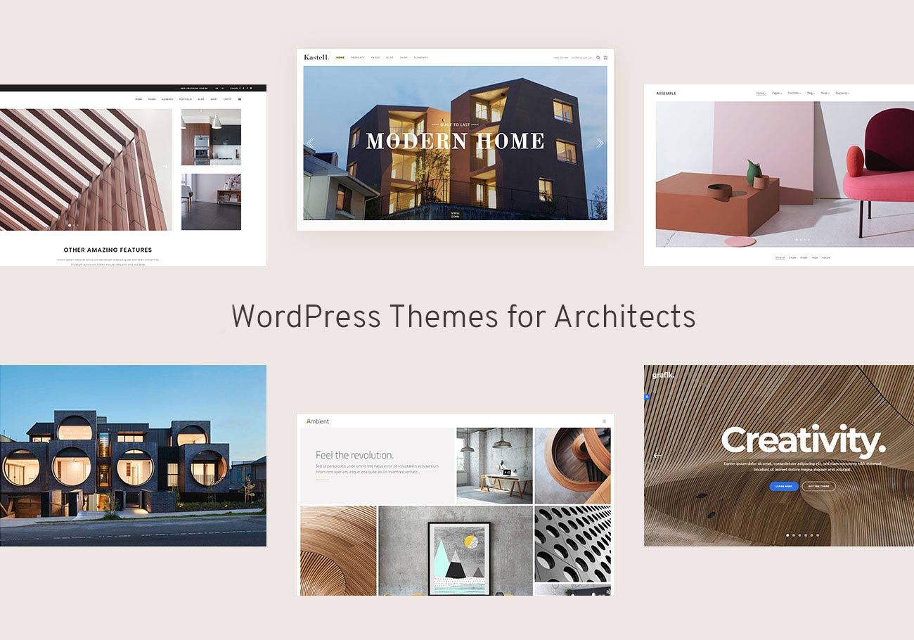 Nicely Designed WordPress Themes for Architects and Architectural Firms