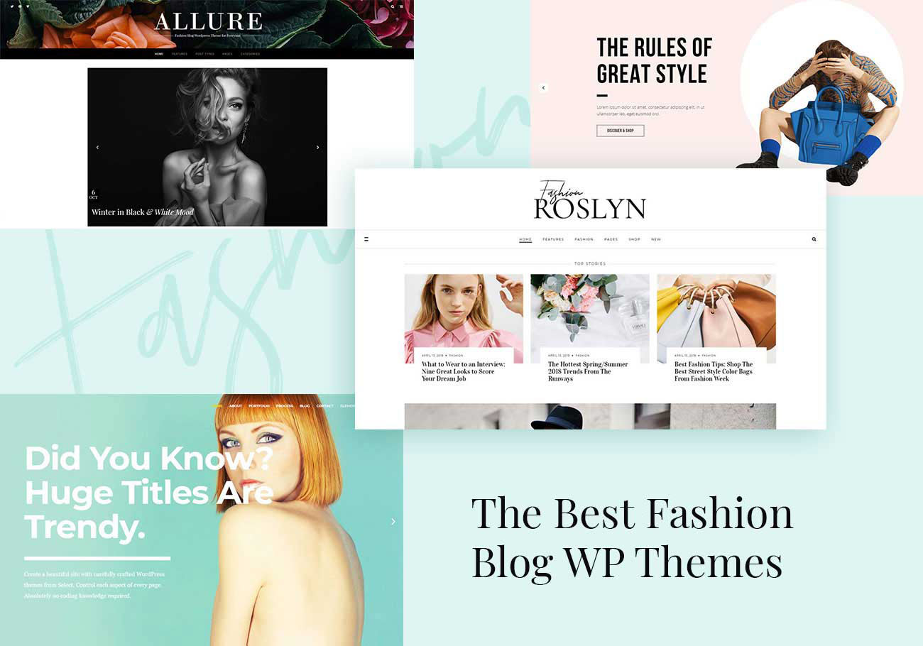 The Best Fashion Blog WordPress Themes