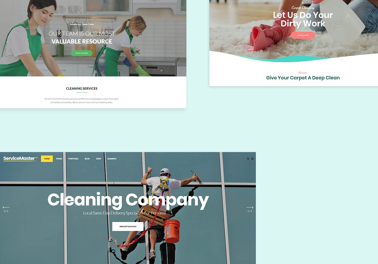 Cleaning Company WordPress Themes To Make Your Site Sparkle