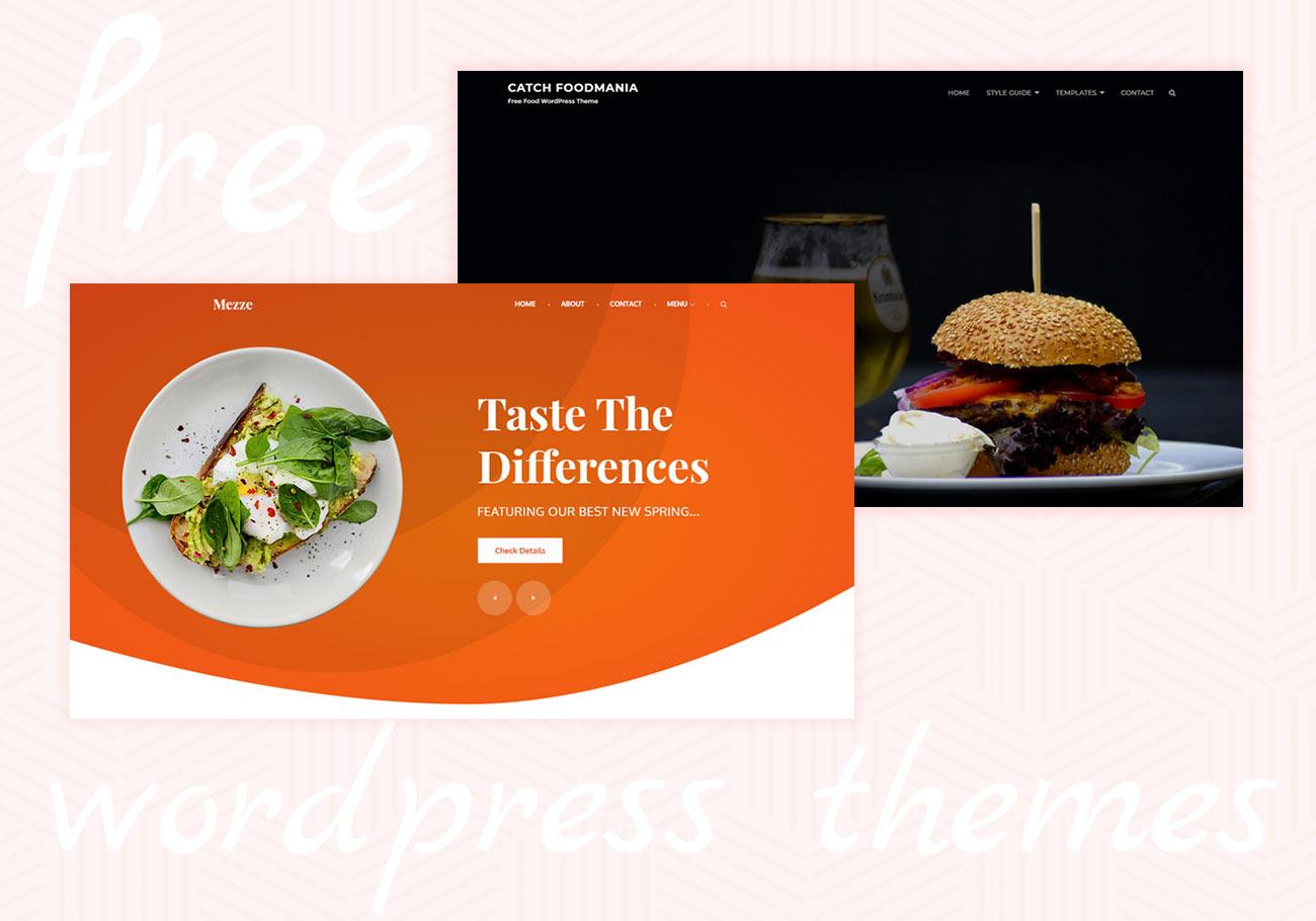 5+ Free Restaurant WordPress Themes to Grow Your Business