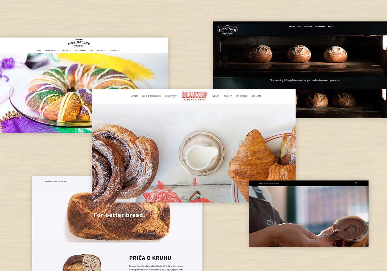 Bakery Websites for Web Design Inspiration