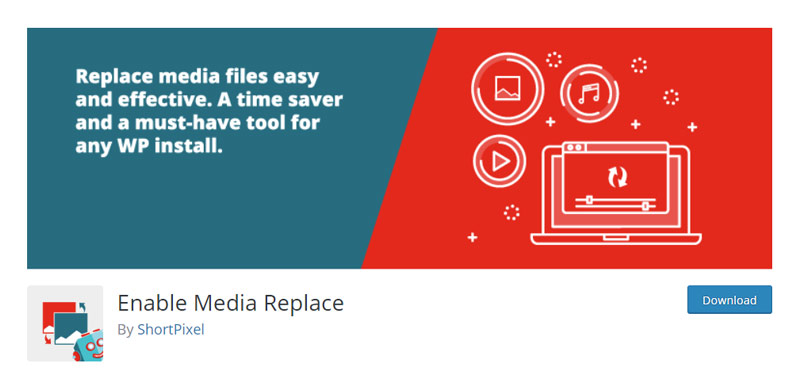 Enable Media Replace Plugin