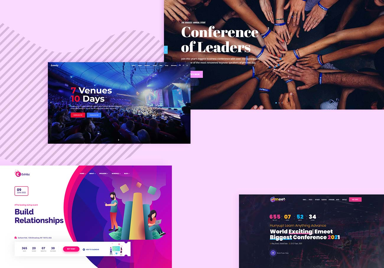 Event and Conference WordPress Themes