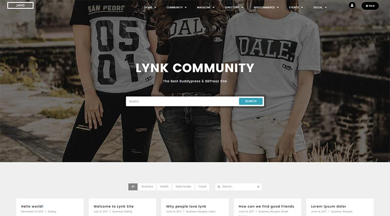 Lynk WordPress Theme