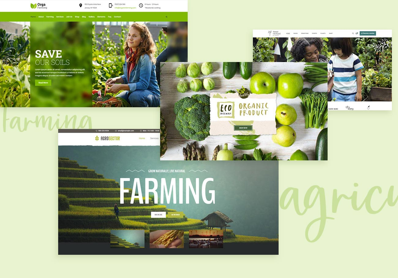 Marvelous Farm WordPress Themes