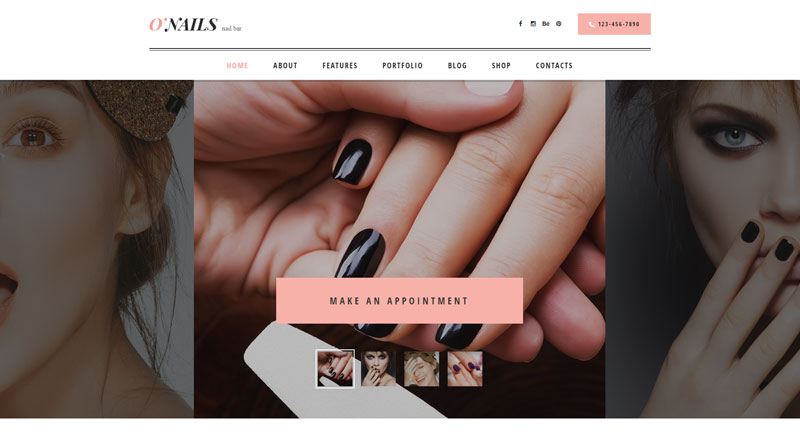 O'Nails WordPress Themes