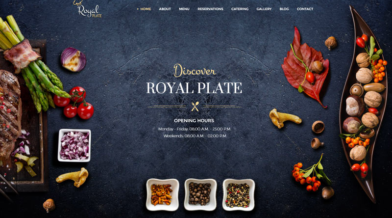 Royal Plate WordPress Theme