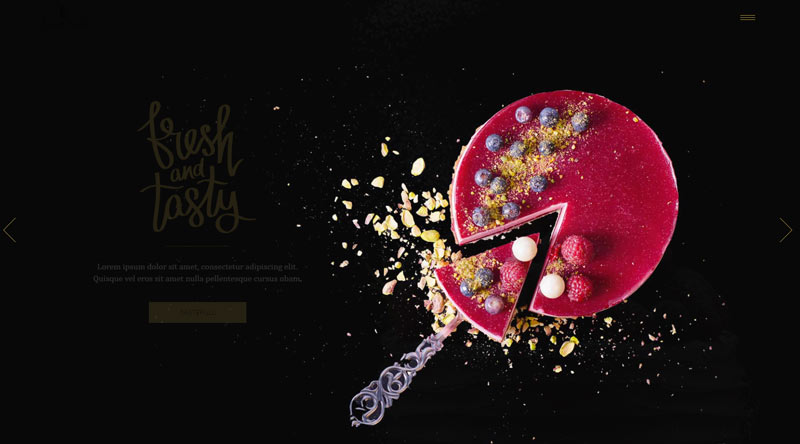 Sweet Tooth WordPress Theme