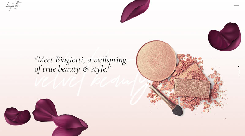 Biagiotti MakeUp WordPress Theme