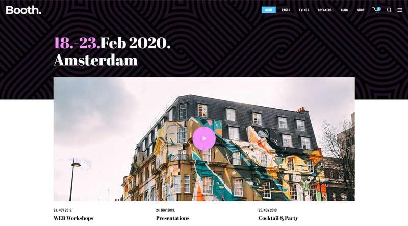 Booth WordPress Theme