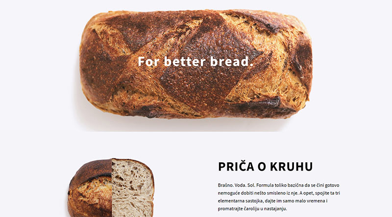 Bread Club website