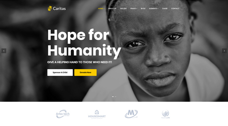 Caritas WordPress Theme