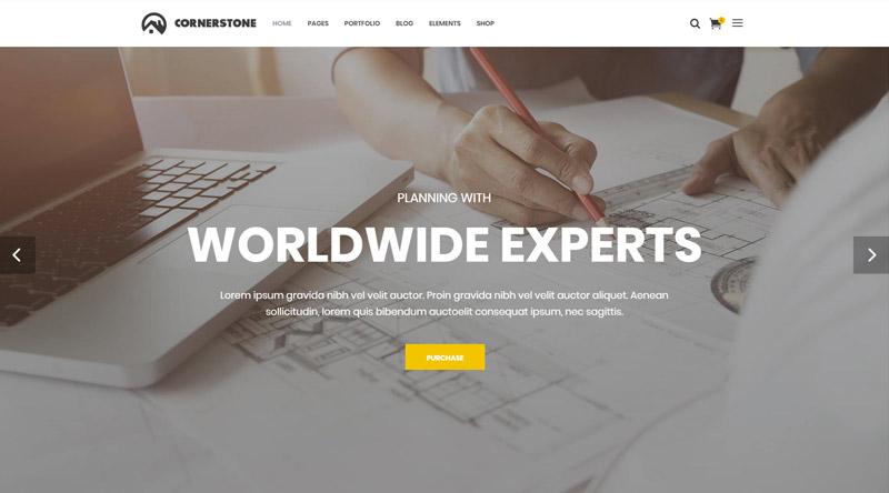 Cornerstone Engineers WordPress Themes