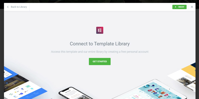 Create elementor account