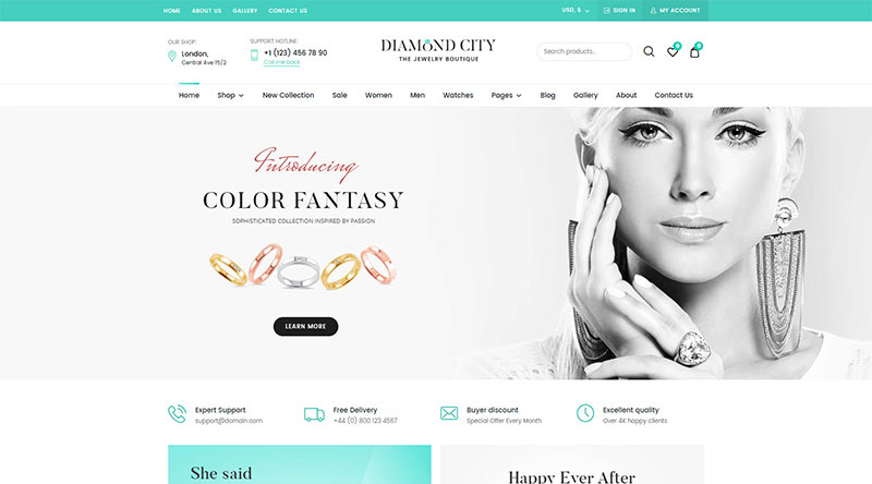 Dici WordPress Theme