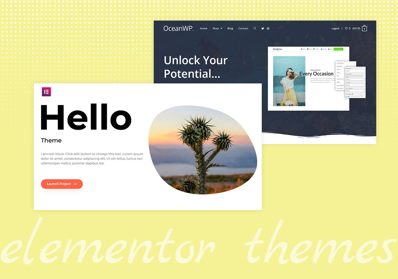 Free Elementor Themes to Get You Started