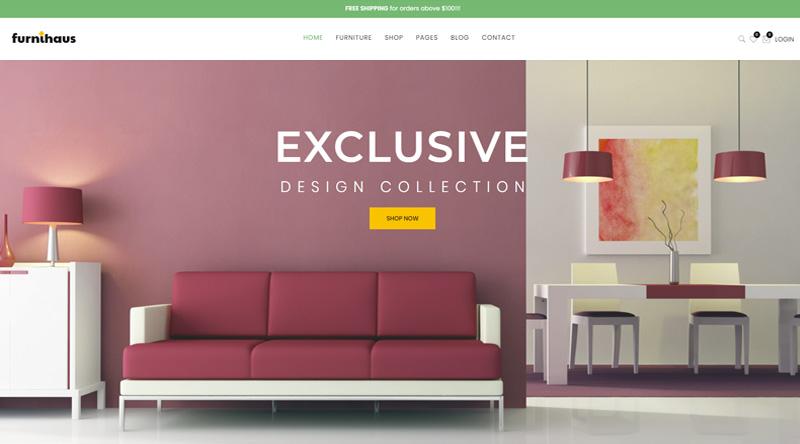 Furnihaus WordPress Themes