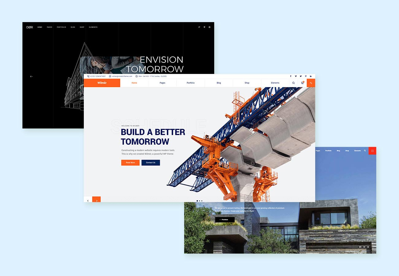 Great Construction WordPress Themes for Your Business