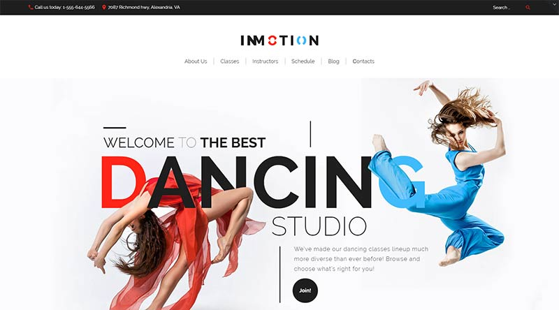 InMotion WordPress Theme