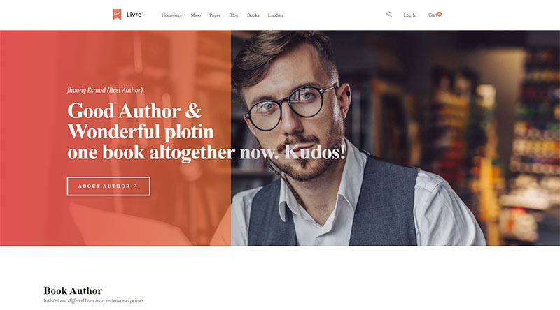 Livre WordPress Theme