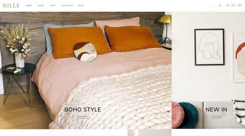 Nille Furniture Store WordPress Themes