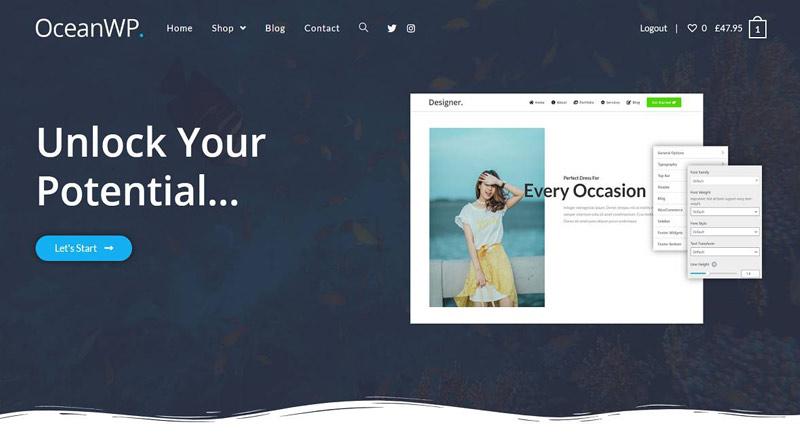 OceanWP WordPress Theme