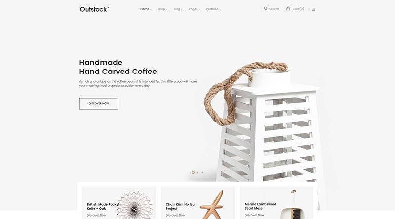Outstock WordPress Theme