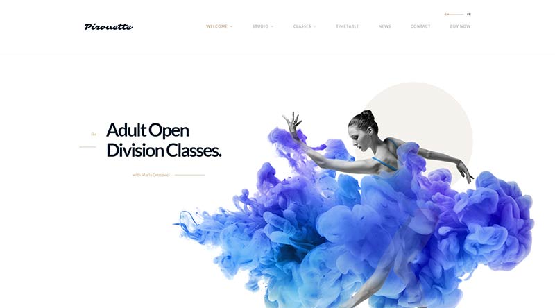 Pirouette WordPress Theme