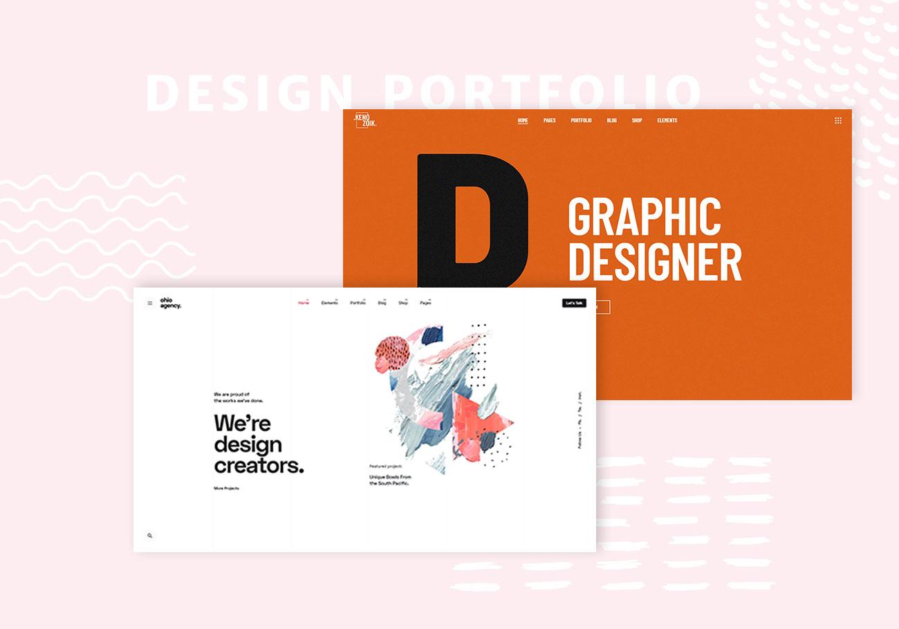 Portfolio WordPress Themes for Designers