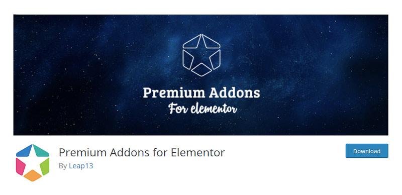 Premium Addons for Elementor