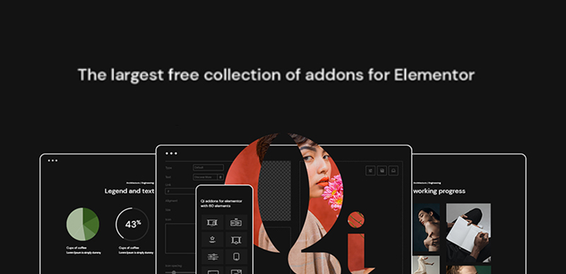 Qi Addons For Elementor plugin