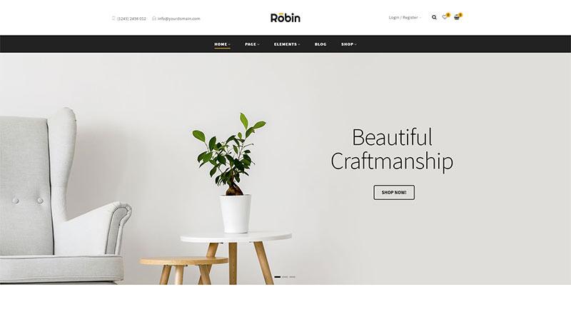 Robin WordPress Theme