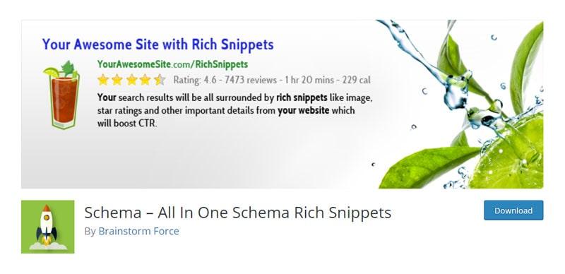 Schema WordPress Plugin