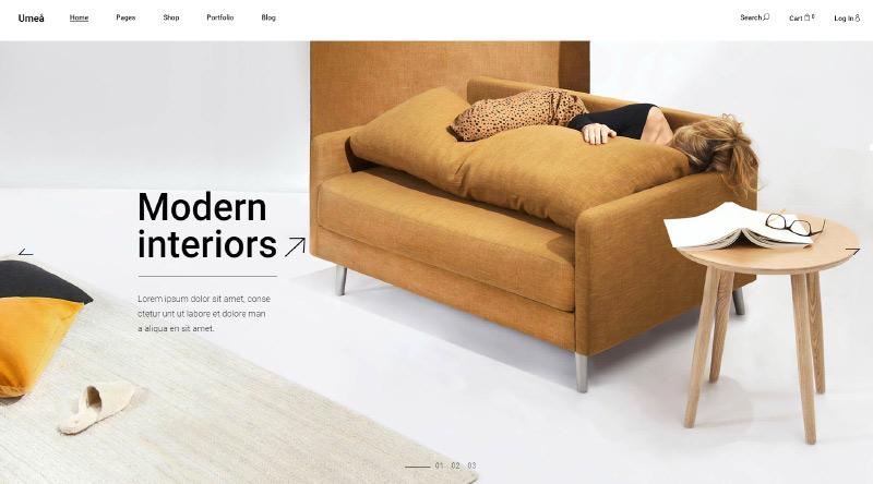 Umea WordPress Theme