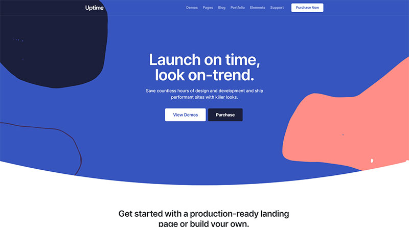 Uptime WordPress Theme