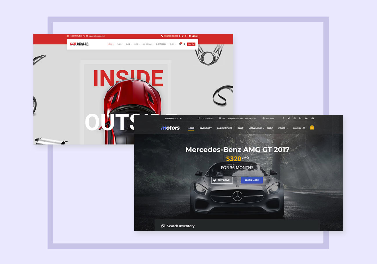 5+ Road-Ready Car Dealer WordPress Themes