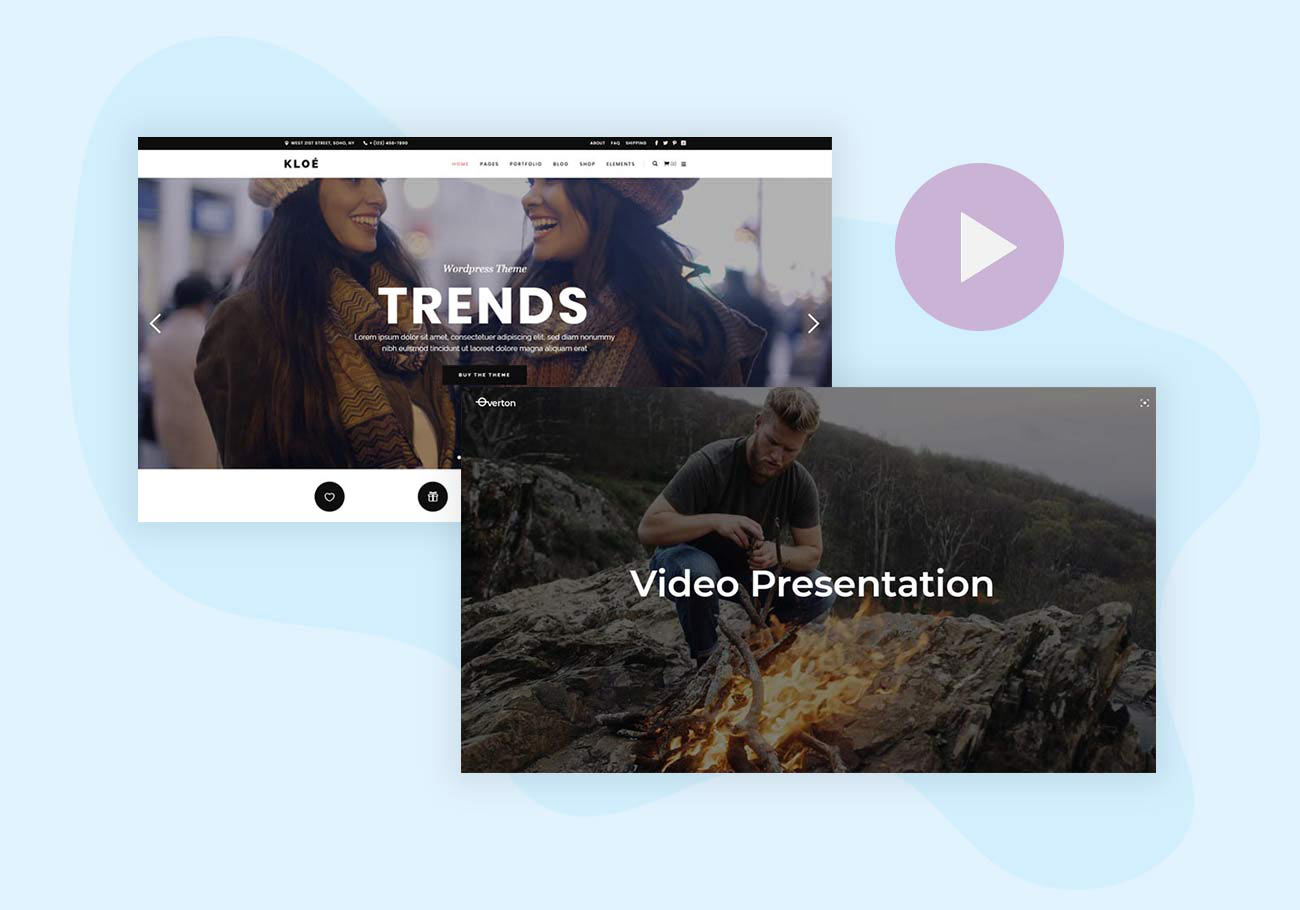 5+ Video Background WordPress Themes for Any Niche