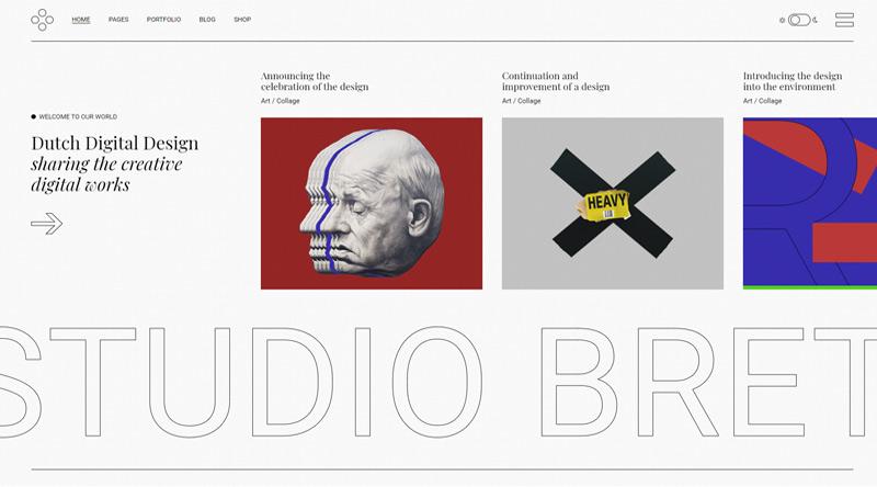 Breton WordPress Theme