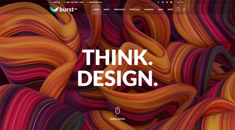 Burst WordPress Theme