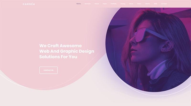 Cardea WordPress Theme