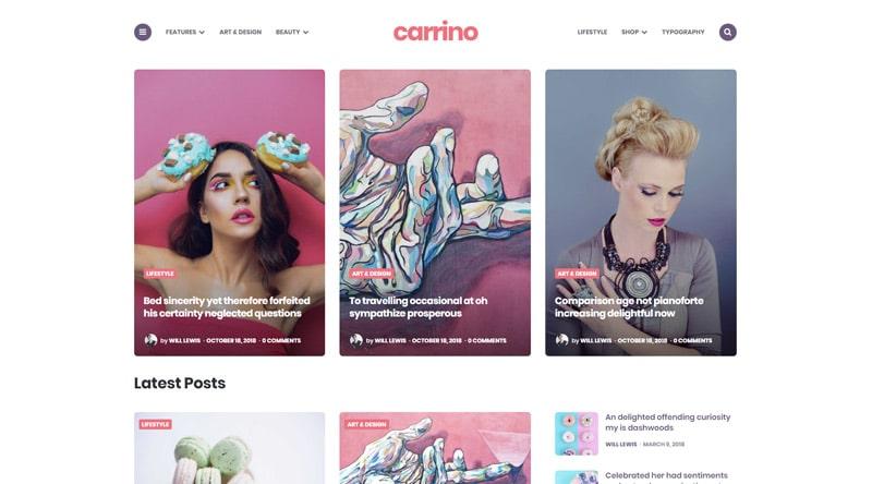 Carrino WordPress Theme