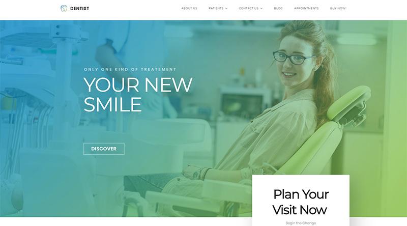 Dentist WP WordPress theme