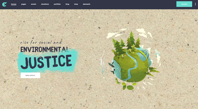 Ecologist WordPress Theme