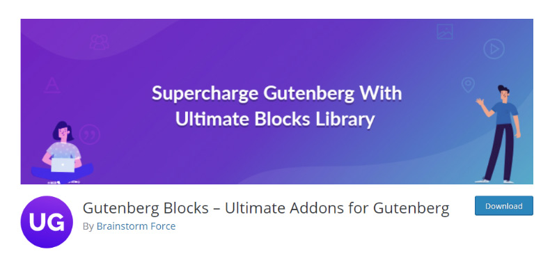 Gutenberg Blocks Plugin