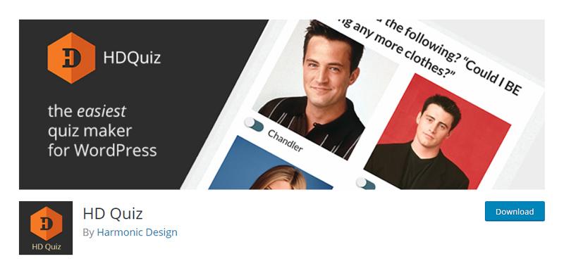 HD Quiz WordPress plugin