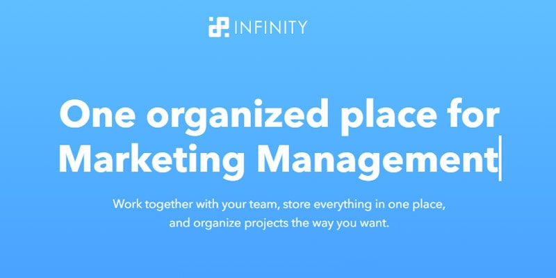 Infinity Management Tool